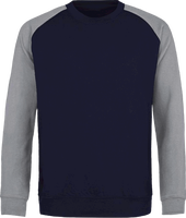 Sweat Col Rond Baseball