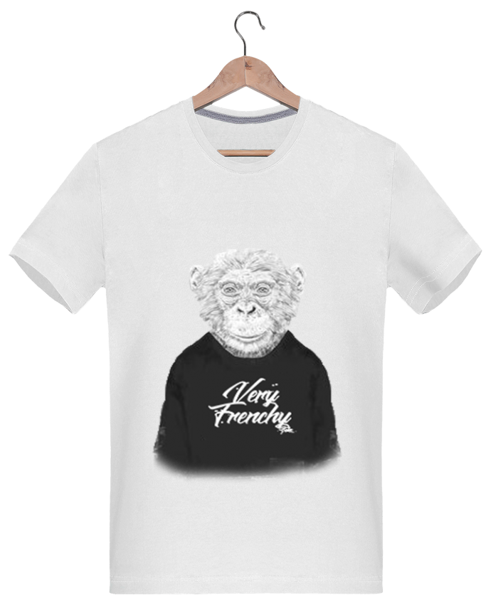 T-shirt  Homme 180g Monkey Very Frenchy par Bellec