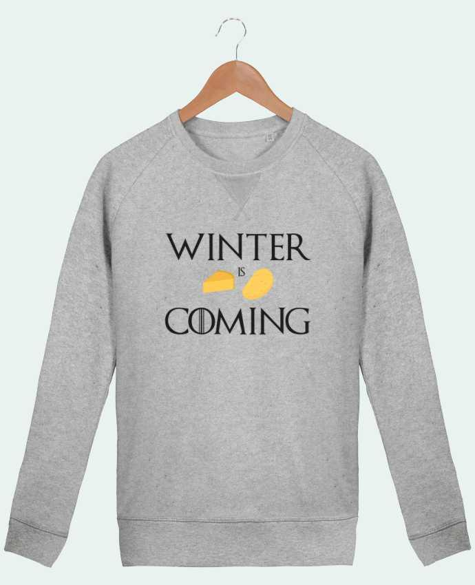 Sweat Col Rond Homme Stanley Strolls Winter is coming par Ruuud