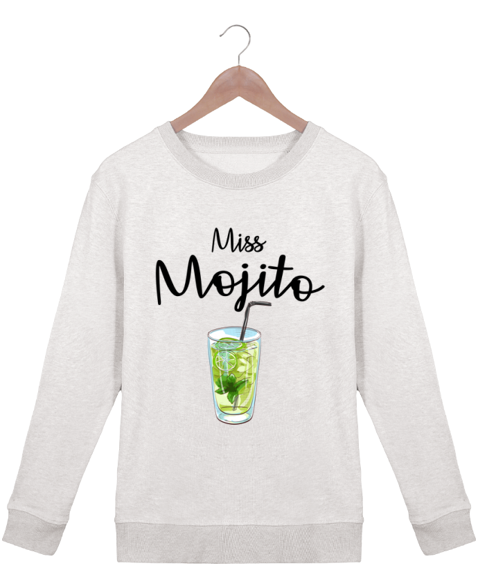 Sweat Col rond Femme Stella Hides Miss Mojito par FRENCHUP-MAYO