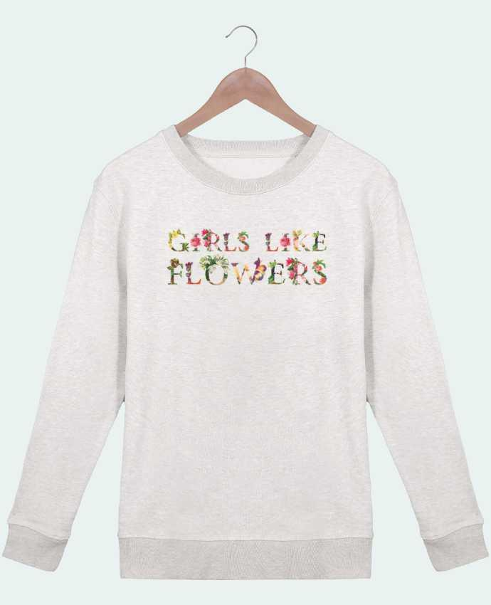 Sweat Col rond Femme Stella Hides Girls like flowers par tunetoo