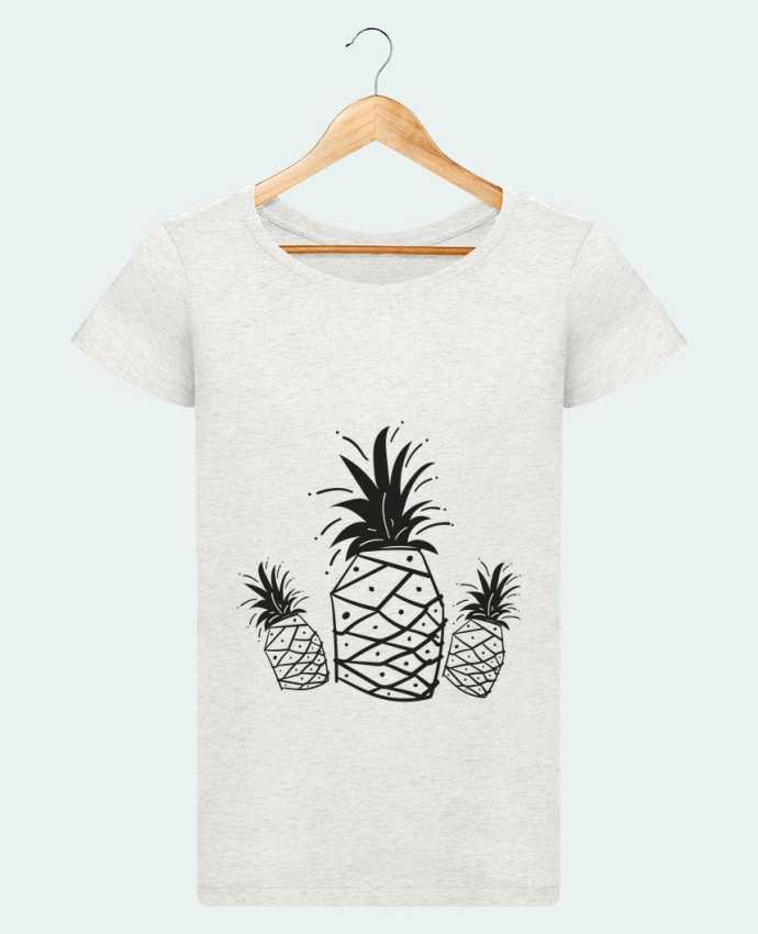 T-shirt Femme Stella Loves CRAZY PINEAPPLE par IDÉ'IN