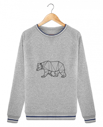 Sweat Col Rond Stella Trips Tipped Bear Animal Prism par Yorkmout