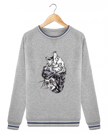 Sweat Col Rond Stella Trips Tipped Femme & Loup par david