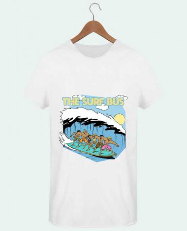 T-shirt Homme Oversized Stanley Skates The Surf Bus par Tomi Ax - tomiax.fr