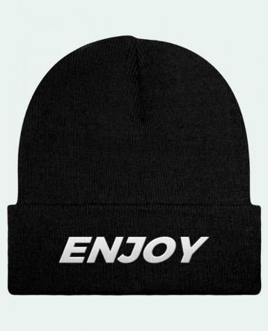 Bonnet Beanie à Revers Enjoy par tunetoo