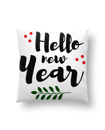 Coussin Synthétique Doux 41 x 41 cm Hello New Year par tunetoo