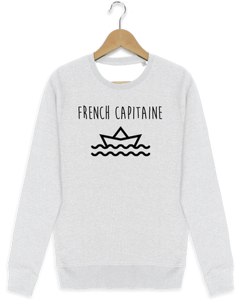 Sweat-shirt Stanley stella modèle seeks French capitaine par Ruuud