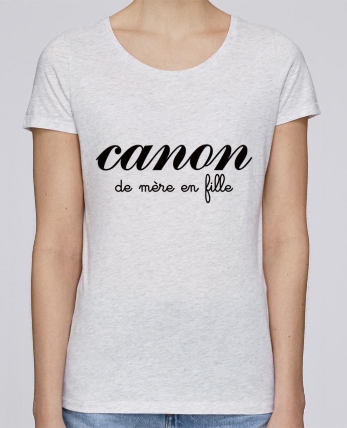 T-shirt Femme Stella Loves Canon de mère en fille par Freeyourshirt.com