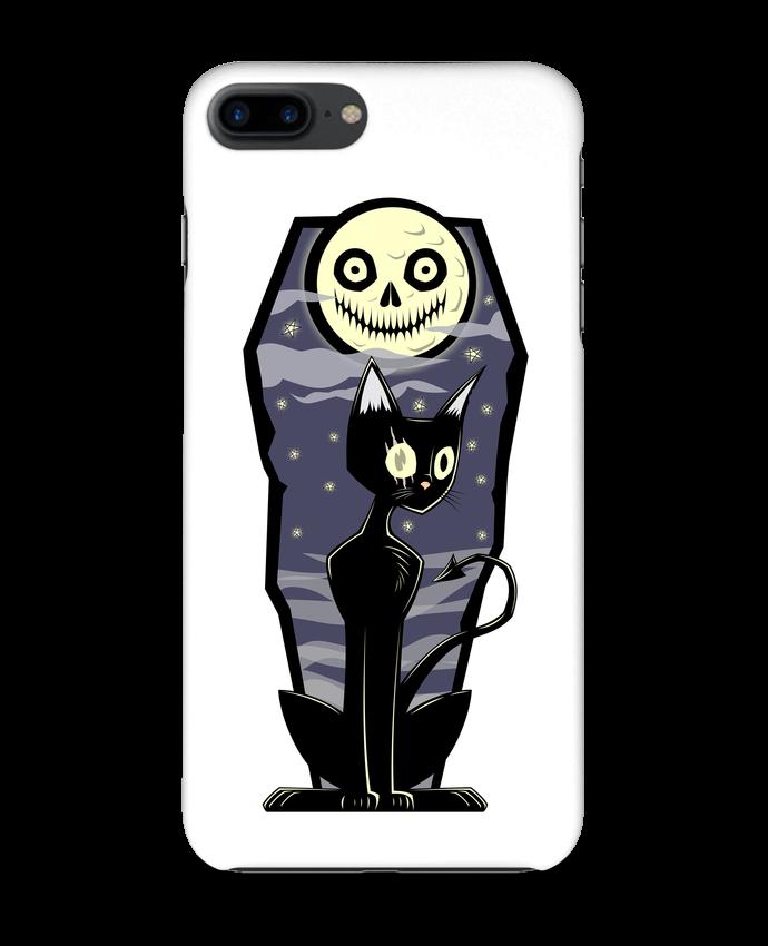 Coque 3D Iphone 7+ Coffin Cat par SirCostas