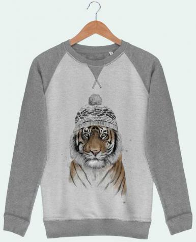 Sweat French Terry Siberian tiger par Balàzs Solti
