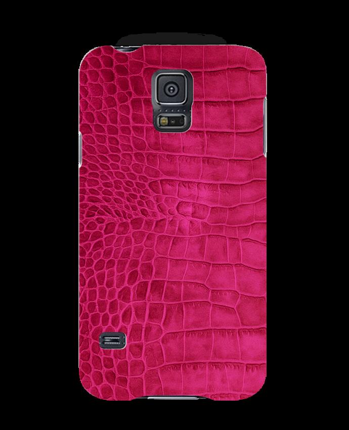 Coque 3D Iphone 7 Croco (cerise) Les Caprices de Filles -Tunetoo