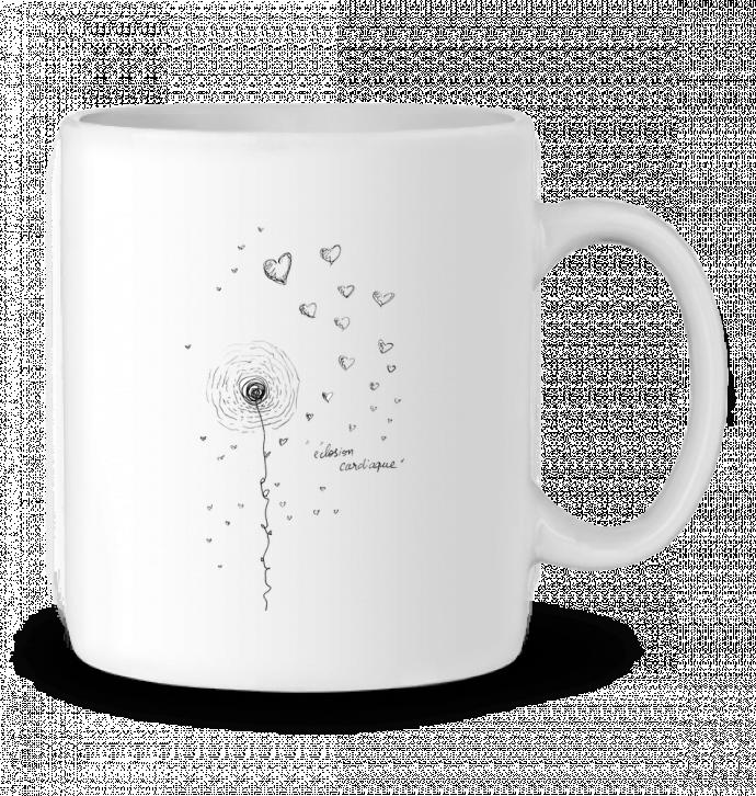Mug en Céramique Eclosion_TIFF par Les Objets De Mika