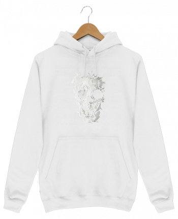 Sweat Shirt à Capuche Homme Simple Skull par ali_gulec