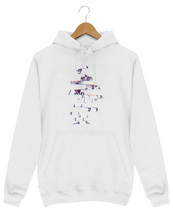 Sweat Shirt à Capuche Homme Skeleton par ali_gulec