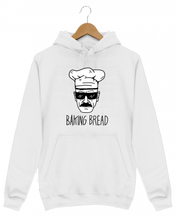 Sweat Shirt à Capuche Homme Baking bread par Nick cocozza