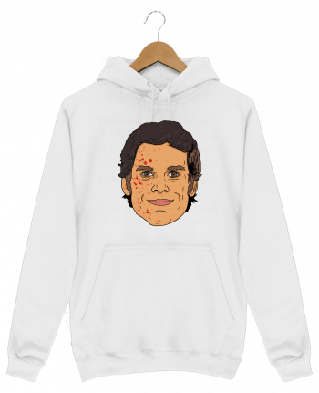 Sweat Shirt à Capuche Homme Dexter par Nick cocozza