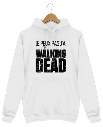 Sweat Shirt à Capuche Homme The walking dead par tunetoo