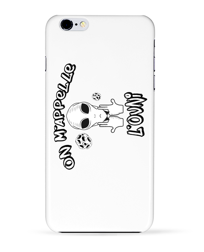 4618079 coque 3d iphone 6 plus blanc ovni jul by tunetoo