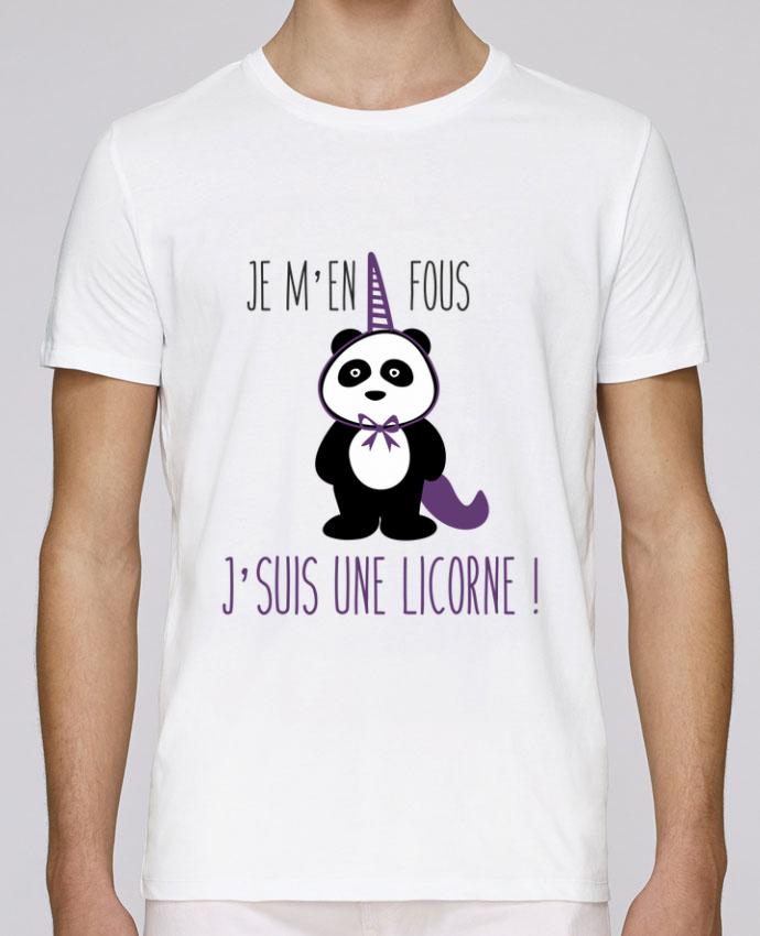 T-Shirt Col Rond Stanley Leads Je m'en fous j'suis une licorne par Benichan