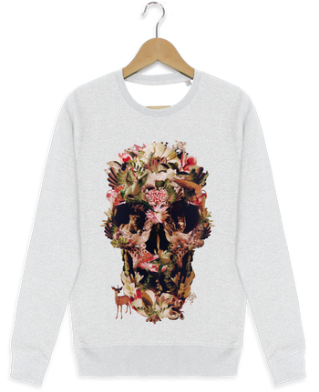 Sweat-shirt Stanley stella modèle seeks Jungle Skull par ali_gulec